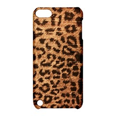 Leopard Print Animal Print Backdrop Apple Ipod Touch 5 Hardshell Case With Stand