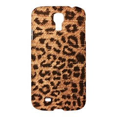 Leopard Print Animal Print Backdrop Samsung Galaxy S4 I9500/i9505 Hardshell Case