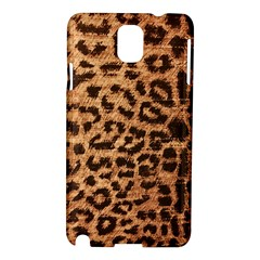 Leopard Print Animal Print Backdrop Samsung Galaxy Note 3 N9005 Hardshell Case