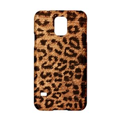 Leopard Print Animal Print Backdrop Samsung Galaxy S5 Hardshell Case