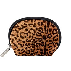 Leopard Print Animal Print Backdrop Accessory Pouches (small)