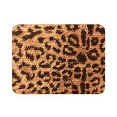 Leopard Print Animal Print Backdrop Double Sided Flano Blanket (mini)