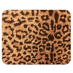 Leopard Print Animal Print Backdrop Double Sided Flano Blanket (medium)