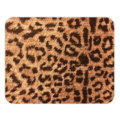 Leopard Print Animal Print Backdrop Double Sided Flano Blanket (large)