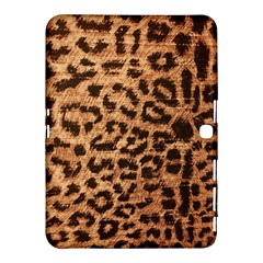 Leopard Print Animal Print Backdrop Samsung Galaxy Tab 4 (10 1 ) Hardshell Case