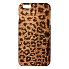 Leopard Print Animal Print Backdrop Iphone 6 Plus/6s Plus Tpu Case
