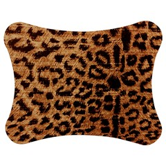 Leopard Print Animal Print Backdrop Jigsaw Puzzle Photo Stand (Bow)