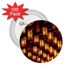 Light Art Pattern Lamp 2.25  Buttons (100 pack)