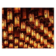 Light Art Pattern Lamp Rectangular Jigsaw Puzzl
