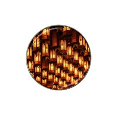 Light Art Pattern Lamp Hat Clip Ball Marker