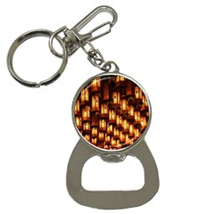 Light Art Pattern Lamp Button Necklaces