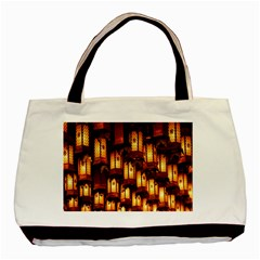 Light Art Pattern Lamp Basic Tote Bag (Two Sides)