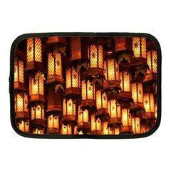 Light Art Pattern Lamp Netbook Case (Medium)