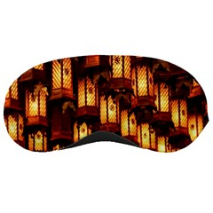 Light Art Pattern Lamp Sleeping Masks