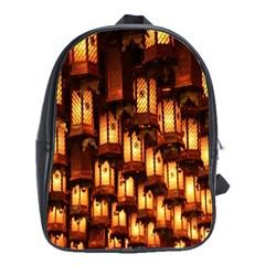 Light Art Pattern Lamp School Bags(Large)