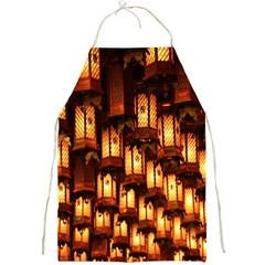 Light Art Pattern Lamp Full Print Aprons