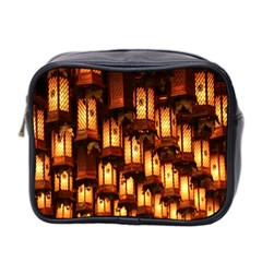 Light Art Pattern Lamp Mini Toiletries Bag 2-Side