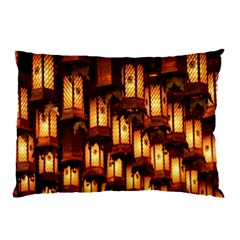 Light Art Pattern Lamp Pillow Case (Two Sides)