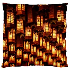 Light Art Pattern Lamp Large Cushion Case (two Sides)