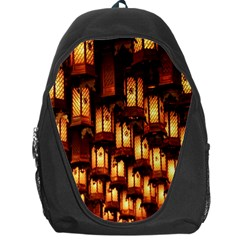 Light Art Pattern Lamp Backpack Bag