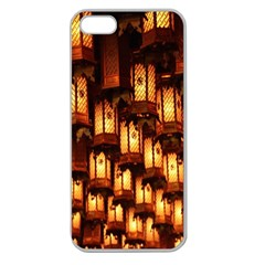 Light Art Pattern Lamp Apple Seamless Iphone 5 Case (clear)