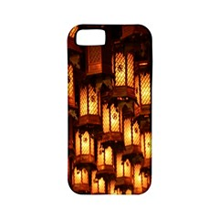 Light Art Pattern Lamp Apple Iphone 5 Classic Hardshell Case (pc+silicone)
