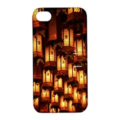 Light Art Pattern Lamp Apple iPhone 4/4S Hardshell Case with Stand