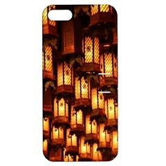 Light Art Pattern Lamp Apple Iphone 5 Hardshell Case With Stand