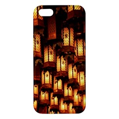 Light Art Pattern Lamp Apple Iphone 5 Premium Hardshell Case