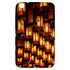 Light Art Pattern Lamp Samsung Galaxy Tab 3 (8 ) T3100 Hardshell Case