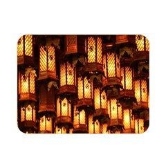 Light Art Pattern Lamp Double Sided Flano Blanket (Mini)