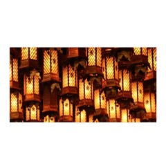 Light Art Pattern Lamp Satin Wrap
