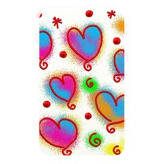 Love Hearts Shapes Doodle Art Memory Card Reader