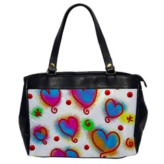Love Hearts Shapes Doodle Art Office Handbags
