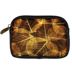 Leaves Autumn Texture Brown Digital Camera Cases