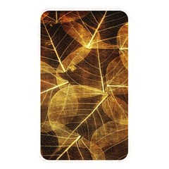 Leaves Autumn Texture Brown Memory Card Reader