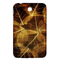 Leaves Autumn Texture Brown Samsung Galaxy Tab 3 (7 ) P3200 Hardshell Case