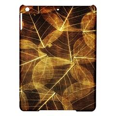 Leaves Autumn Texture Brown Ipad Air Hardshell Cases