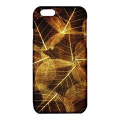 Leaves Autumn Texture Brown iPhone 6/6S TPU Case