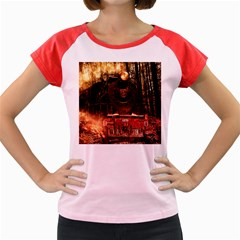 Locomotive Women s Cap Sleeve T-Shirt