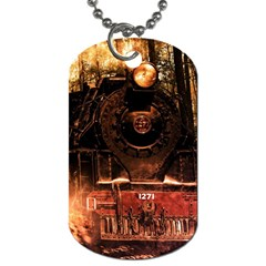 Locomotive Dog Tag (Two Sides)