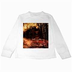Locomotive Kids Long Sleeve T-Shirts