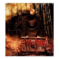 Locomotive Shower Curtain 66  x 72  (Large)