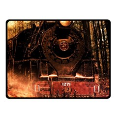 Locomotive Fleece Blanket (Small)
