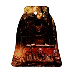 Locomotive Bell Ornament (two Sides)