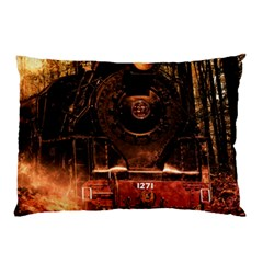 Locomotive Pillow Case (Two Sides)