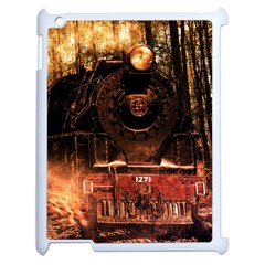 Locomotive Apple iPad 2 Case (White)