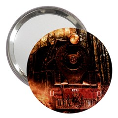 Locomotive 3  Handbag Mirrors
