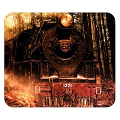 Locomotive Double Sided Flano Blanket (small)