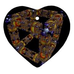 Machine Gear Mechanical Technology Ornament (Heart)